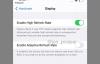 爆料晒出可启用120Hz刷新率和LiDAR功能的iPhone 12 Pro Max设置截图