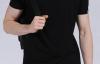 【速搜资讯】莱卡棉汗布 维仕特瑞修身纯色T恤2件39元:超高性价比