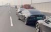 【速搜资讯】网传广州一快速路交通管制 所有特斯拉被拦停路边
