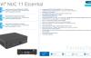 【速搜资讯】Intel NUC 11 Essential入门迷你机曝光:10nm 10W处理器