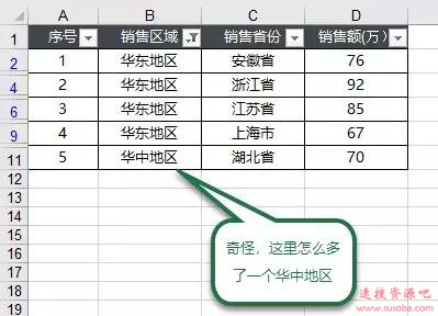【Excel技巧】Excel筛选序号就变乱?超简单,一招就能搞定