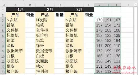 【Excel技巧】只需5秒!Excel数据批量粘贴,想贴哪里贴哪里