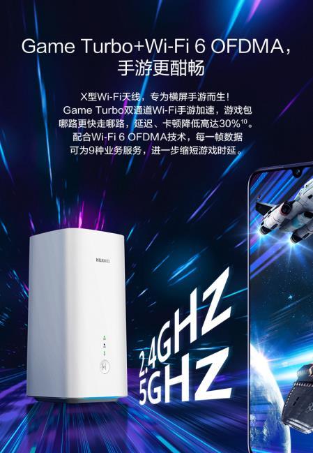 5G与Wi-Fi 6结合 华为5G路由速度飞起