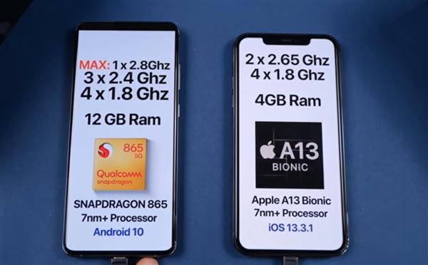 谁更流畅?三星S20 Ultra、iPhone 11 Pro实机速度对比