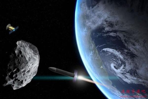 """""""行星杀手""""小行星袭击地球:核弹等撞击可取"""