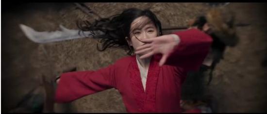 《花木兰》发布幕后视频:揭秘片中动作戏