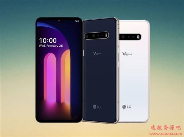 LG V60 ThinQ发布:骁龙865配5000mAh、耳机孔/IP68/HiFi俱全