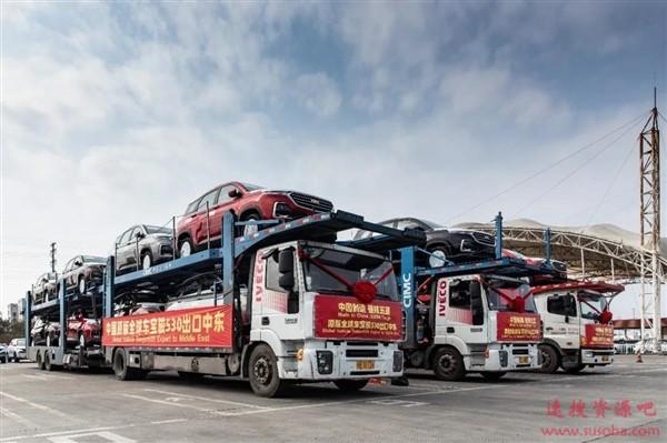 478辆中国原版宝骏530出口中东:换雪佛兰标改叫科帕奇