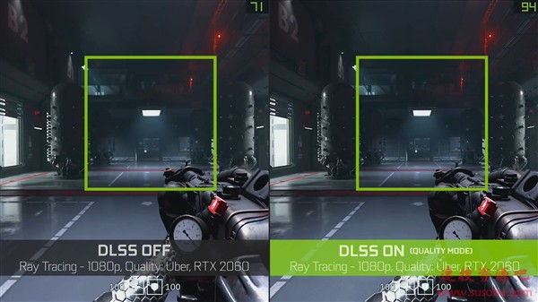 NVIDIA宣布全新AI抗锯齿DLSS 2.0:光追性能猛增75%