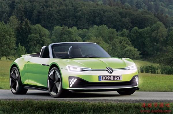对标特斯拉Roadster!大众旗舰电动超跑ID.R采用秘密电池技术