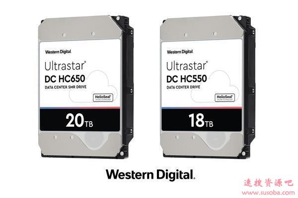 西数18TB CMR硬盘Q2季度量产 20TB开始大量应用SMR