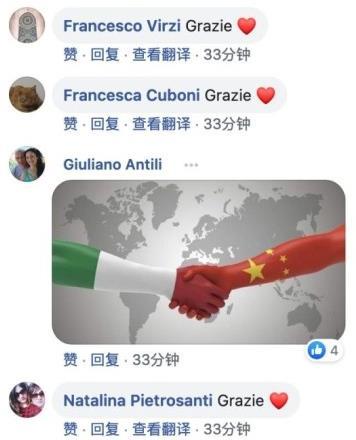 意大利18岁女孩作画致敬中国:同海之浪 同树之叶 同园之花