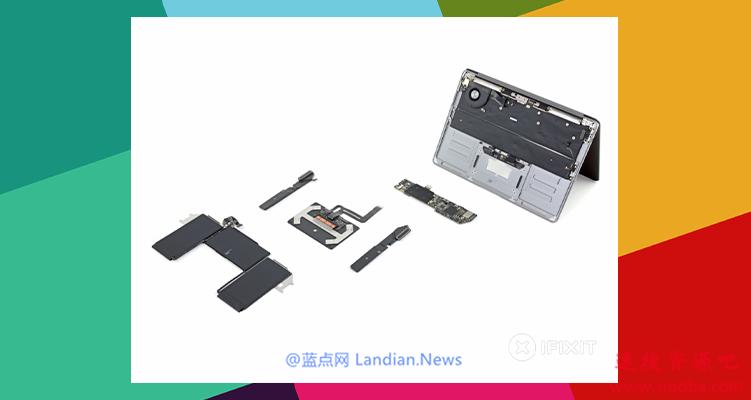 iFixit给MacBook Air 2020版的可维修性等级打了4分 满分十分