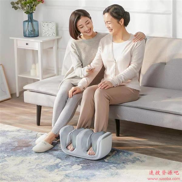 小米有品上架腿膝足按摩器:暖膝护腿 足底指压