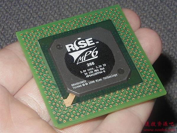 20年前的第三方x86处理器见过吗?200MHz、BGA/Socket7双插槽