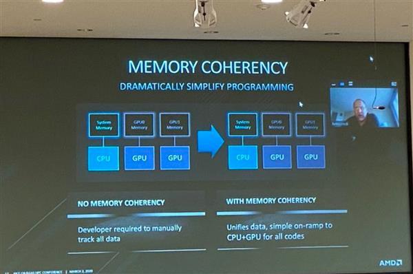 AMD扩展Infinity Fabric总线技术 CPU与GPU之间终于共享内存了