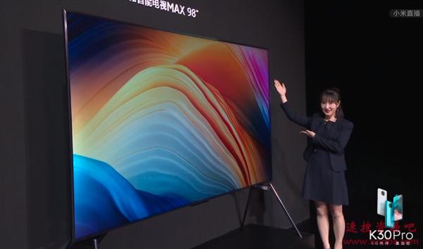 98寸电视索尼卖52.99万 卢伟冰直接干到1.99万:同样价格买更大的
