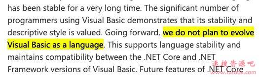 风雨29年:微软正式放弃Visual Basic编程语言