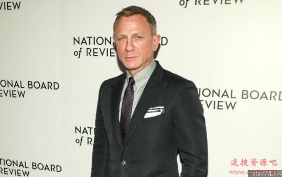 007演员克雷格上亿财产拒绝留给女儿:继承令人反感