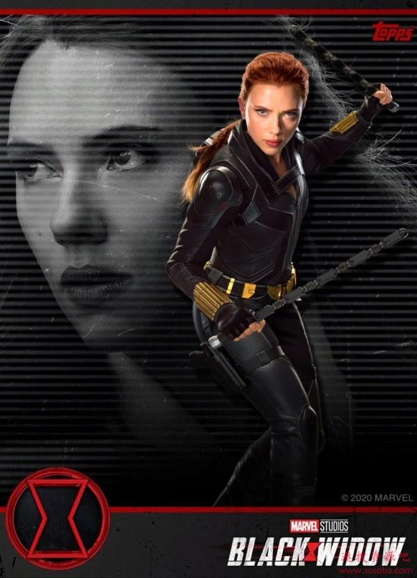 《黑寡妇》5月1日北美上映:寡姐性感皮衣手握双鞭造型