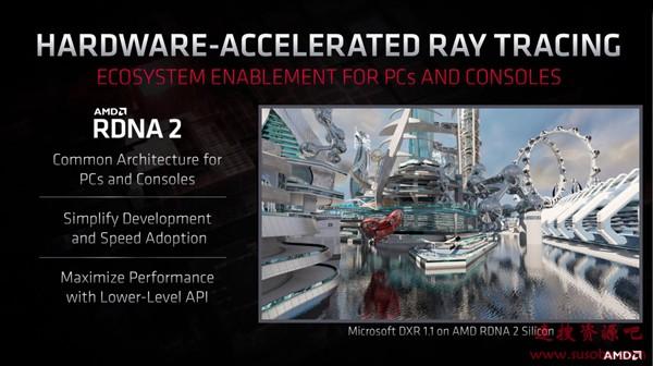基于DX12终极版打造 AMD公布RDNA2光线追踪Demo:硬件加速