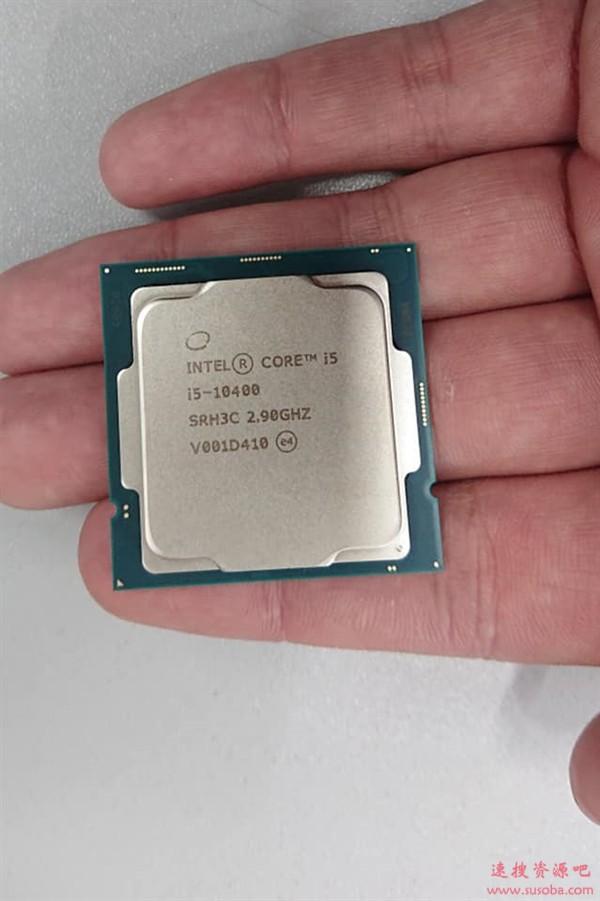 Intel十代桌面酷睿4月13日发布:i5-10400正式版高清真图首曝
