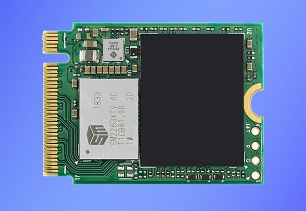 铠侠发布少见的M.2 2230 SSD:最大512GB、最快2GB/s