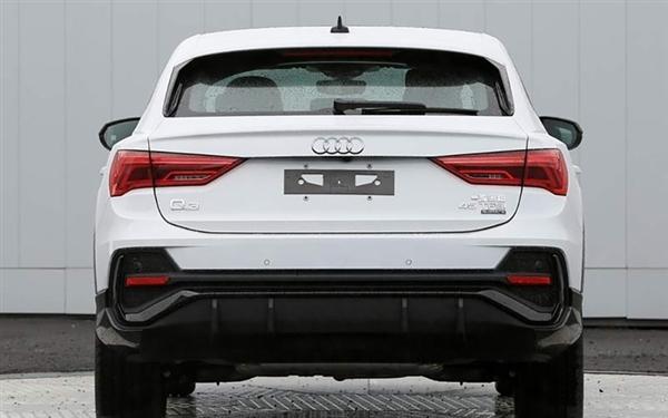 家族最便宜轿跑SUV!奥迪Q3 Sportback定名Q3轿跑:4月底上市