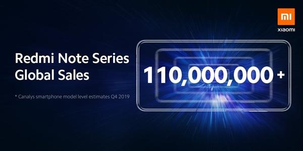 小米家族中的一代神机:Redmi Note系列销量突破1.1亿台