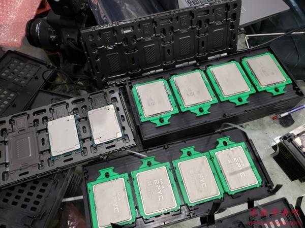 Linux 5.7神优化:AMD 24核心霄龙性能暴涨最多4.2倍
