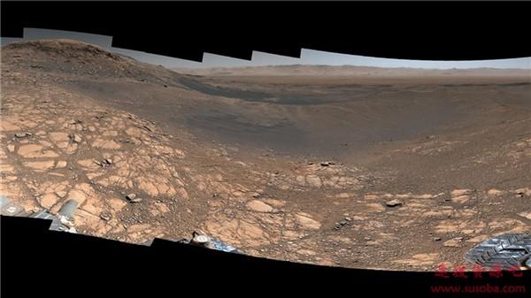 NASA发布18亿像素火星高清全景图:荒凉 壮阔!