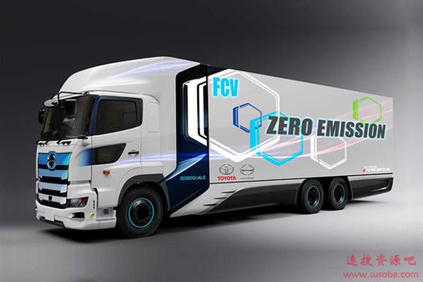 重达25吨 续航600公里!丰田/日野共同开发重型氢燃料卡车