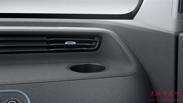 酷似日本K-Car!五菱发布纯电动微型车内饰官图