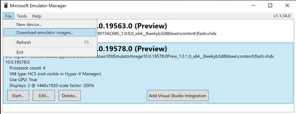 Windows 10 X模拟器镜像迭代到19578:支持Win32程序沙盒运行