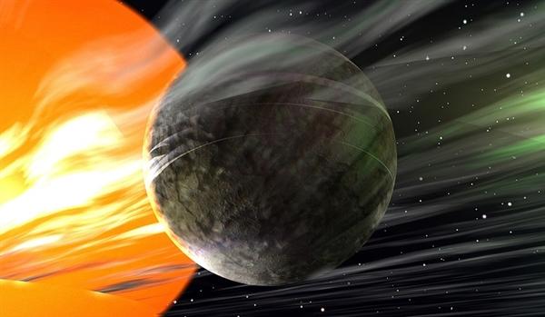 科学家神秘外星世界:天空日常下铁 靠近秒汽化