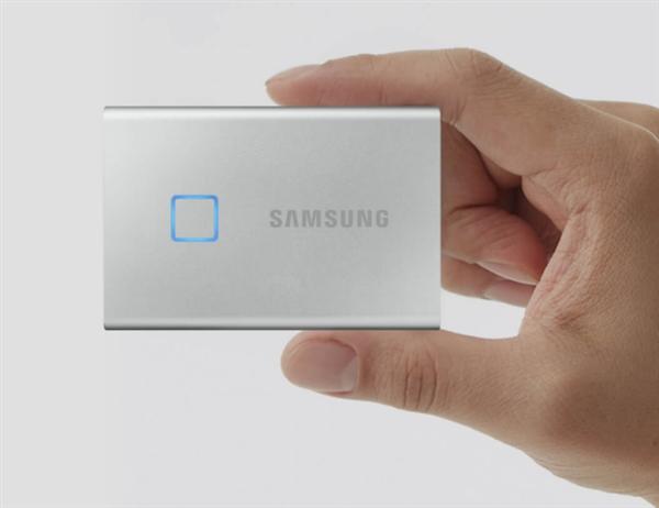 小米有品上架三星T7 Touch移动SSD:支持指纹识别