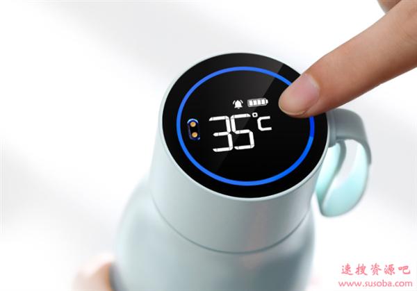 华为商城上架智能保温杯:实时温度显示 秒测水质纯净度