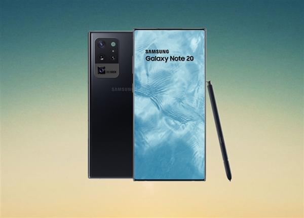 三星Galaxy Note 20起步容量128GB:存储卡扩展回归、或首发屏下摄像头