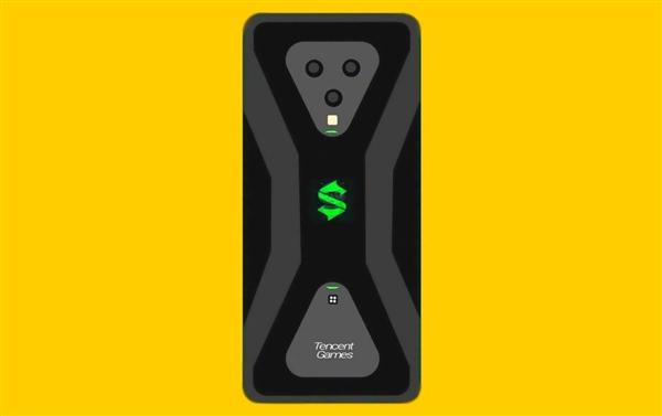 腾讯黑鲨游戏手机3背部造型曝光:前所未见的酷炫 十足电竞范