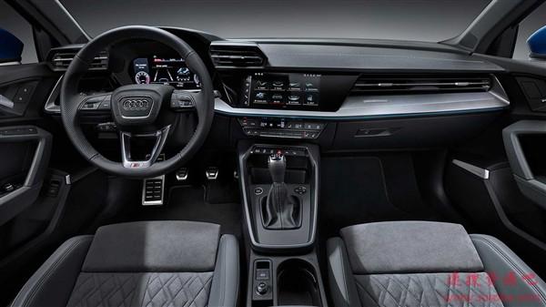 新一代奥迪A3全球首秀:可变阻尼悬架加持 底盘大升级