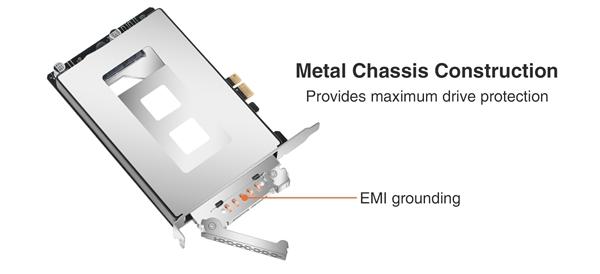 Icy Dock发布PCIe扩展卡:帮你新增一个2.5寸SATA硬盘位