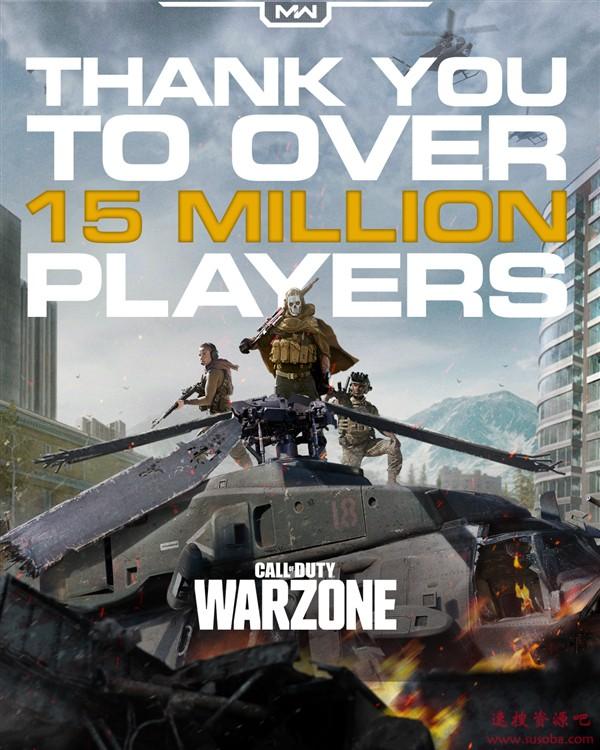免费!《使命召唤:战区》上线4天玩家破1500万