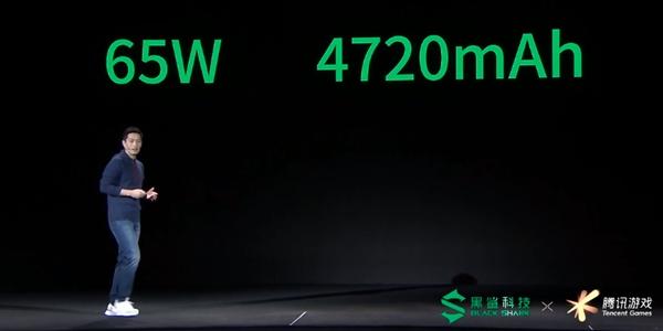 65W+4720mAh!黑鲨3首创串充并放双电池:等效5020mAh