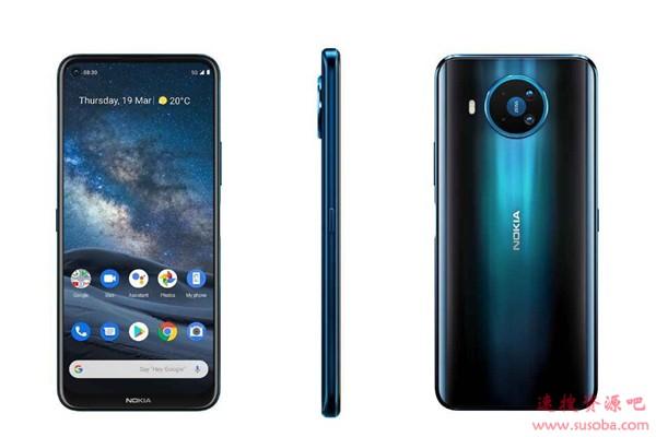 诺基亚8.3 5G发布:骁龙765G加持 4600元起