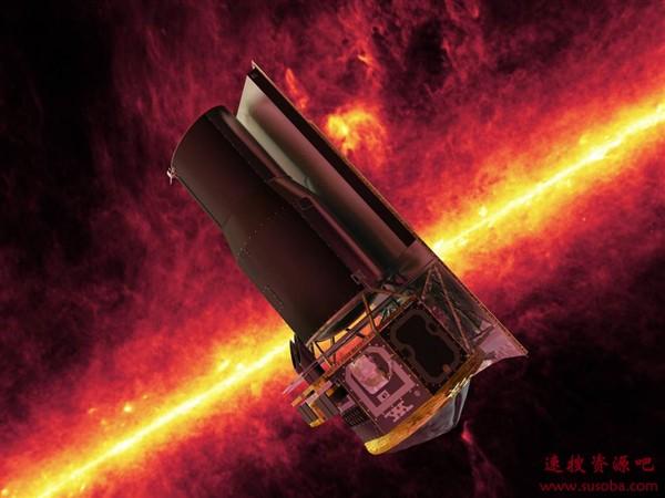 NASA斯皮策望远镜服役16年后完成使命:最后一张星云图曝光
