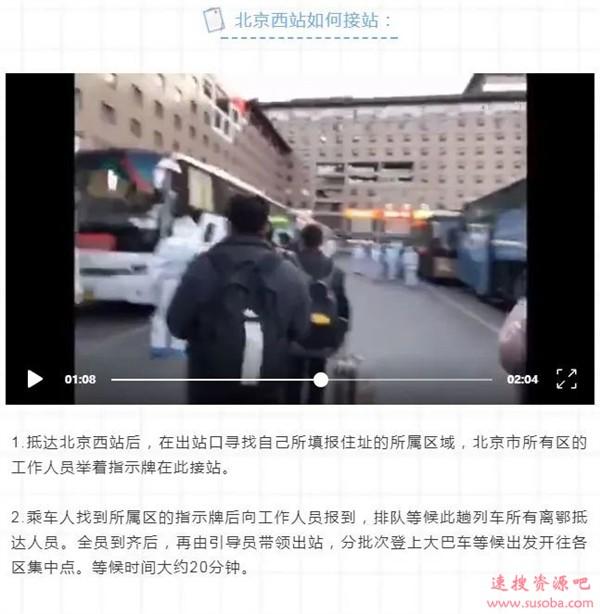 北京西站出现大量白衣人:新冠疫情大暴发?