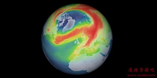 北极惊现史上最大臭氧空洞:等于3个格陵兰岛