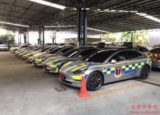 特斯拉被泰国警方改装成警车 每辆花费超过280万元