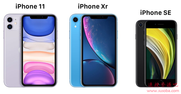 新iPhone SE、iPhone 11、 iPhone XR有何区别?该买哪款