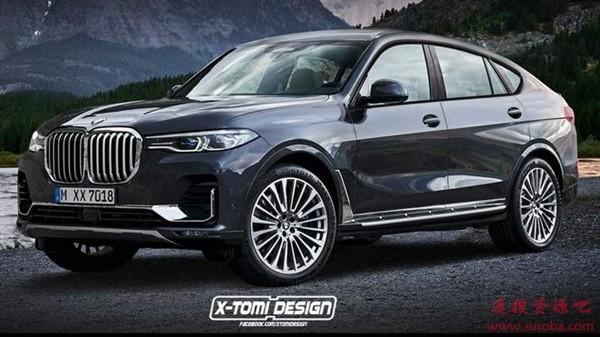 宝马全新顶级旗舰SUV:X8 M已注册商标